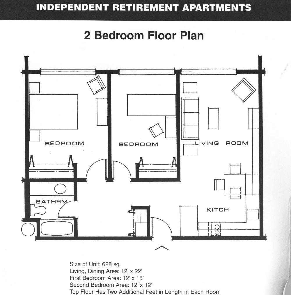 Condo floor plan learning technology Small 2 bedroom apartment floor plans